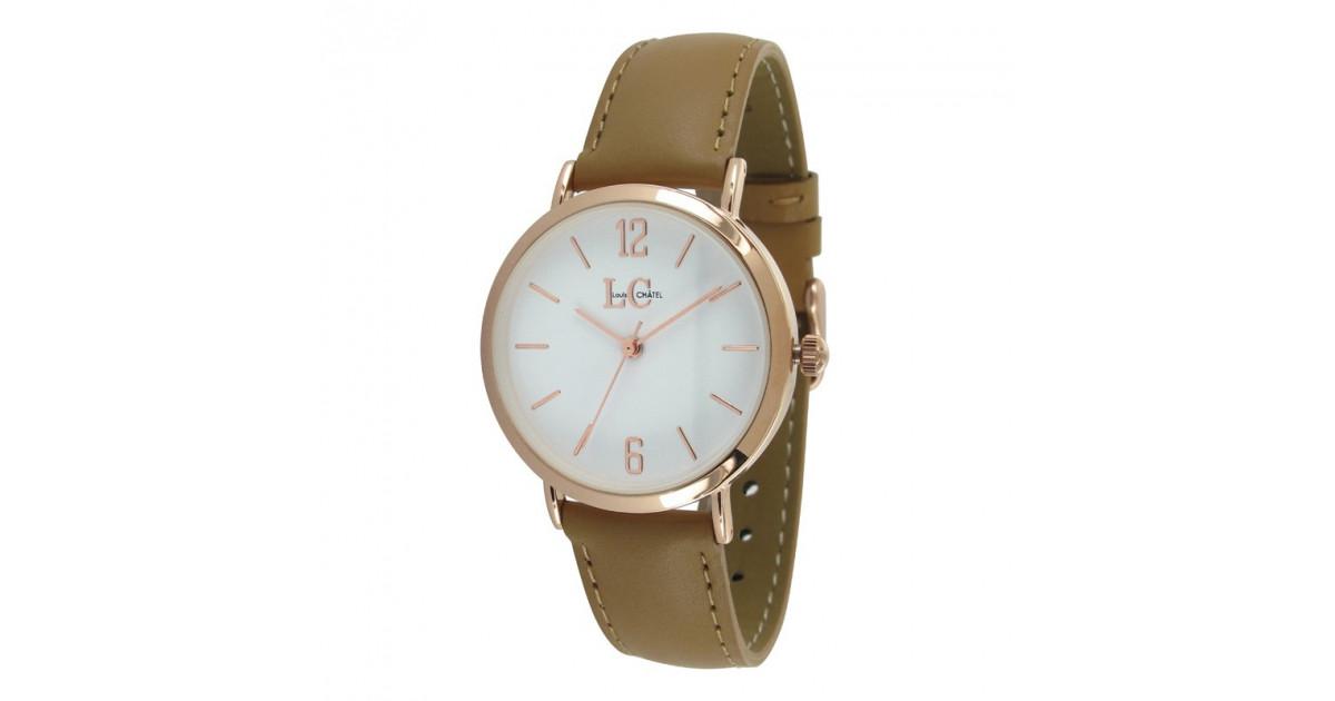 Louis châtel finesse rose gold