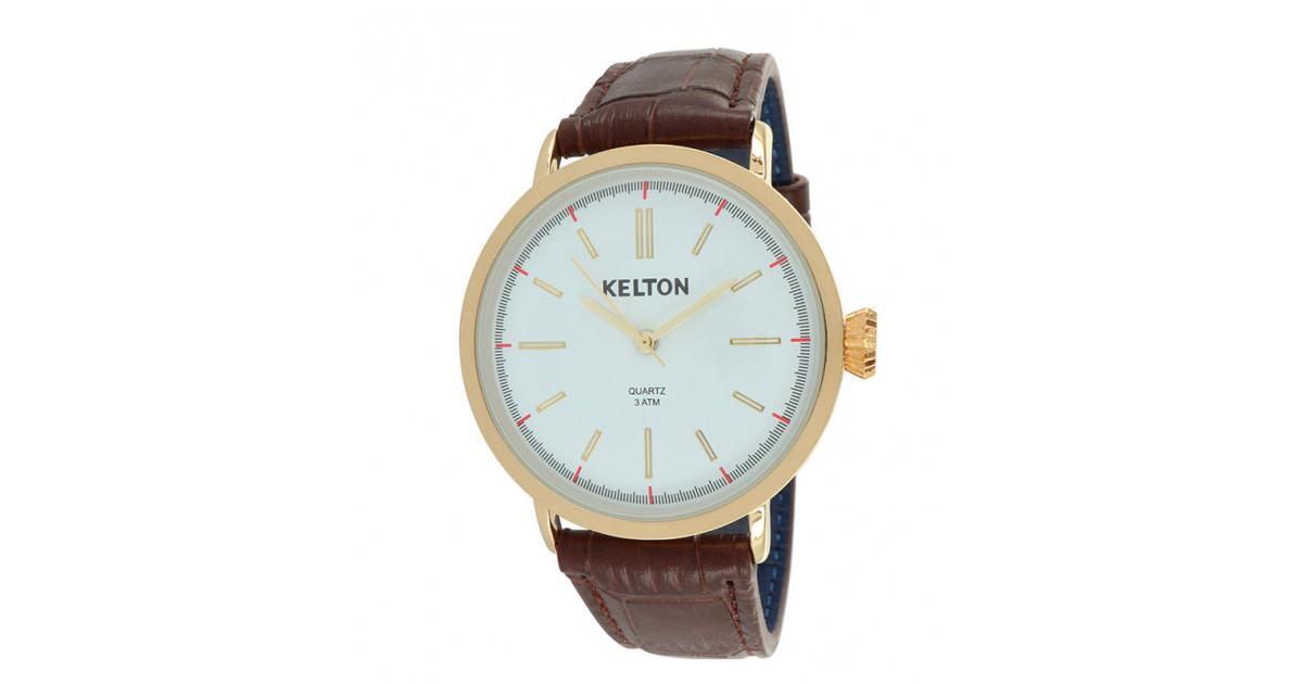 Kelton vintage réf. 9120522 dorée cadran silver garantie 2 ans